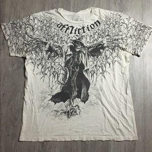 Affliction Signature Series KORN T-shirt Large Men